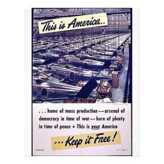 This Is America Keep It Free! Full Color Flyer