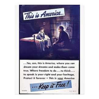 This Is America Keep It Free Full Color Flyer