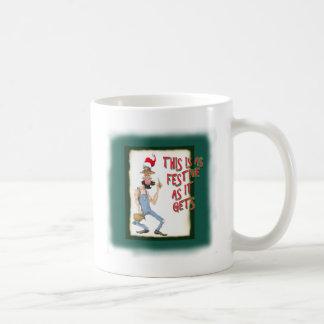 This is as Festive as it Gets Basic White Mug