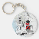 This is California, baby Basic Round Button Key Ring