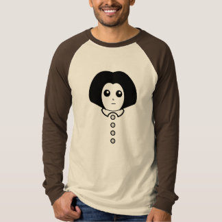 This is Candace. On a duo-tone shirt. T-Shirt