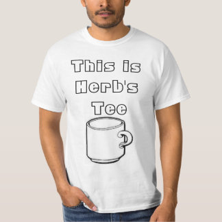 This is Herb's Tee