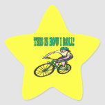 This Is How I Roll 4 Star Sticker