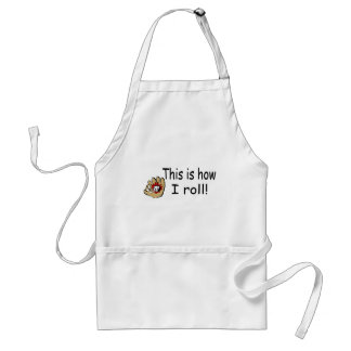 This Is How I Roll (BB Glove) Standard Apron