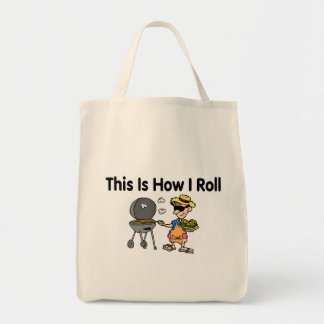 This Is How I Roll BBQ Grilling Canvas Bags