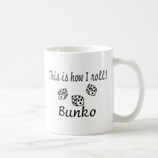 This Is How I Roll Bunko Basic White Mug