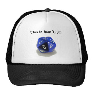 This Is How I Roll d20 Mesh Hats