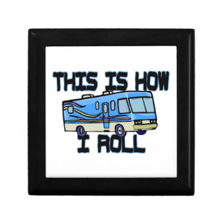 This Is How I Roll RV Gift Box