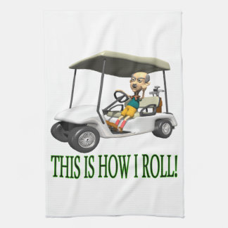 This Is How I Roll Tea Towel