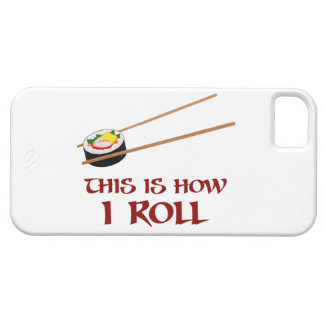 This Is How I Sushi Roll iPhone 5/5S Covers