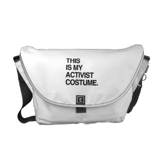 THIS IS MY ACTIVIST COSTUME.png Commuter Bags