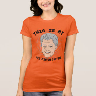 This is my Bill Clinton Costume T-Shirt