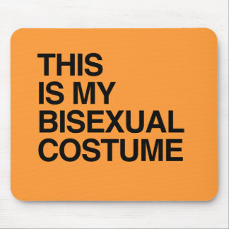 THIS IS MY BISEXUAL HALLOWEEN COSTUME.png Mouse Pad