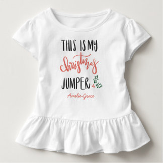 THIS IS MY CHRISTMAS JUMPER TODDLER T-Shirt