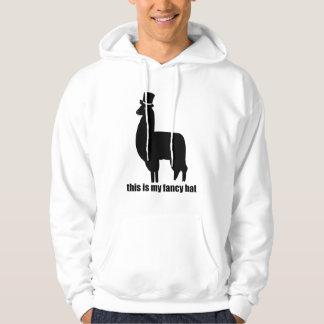 This Is My Fancy Hat Llama Hoodie