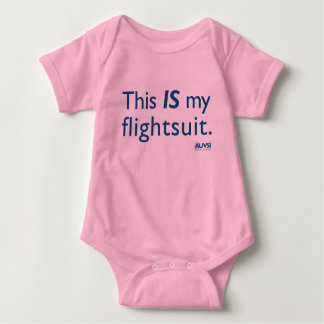 This IS my flightsuit! Baby Bodysuit