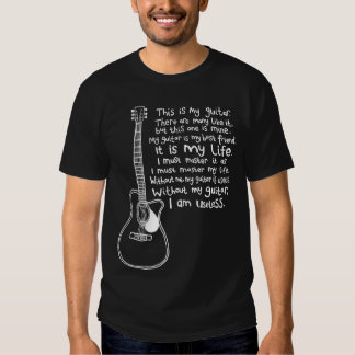 This Is My Guitar Tshirt