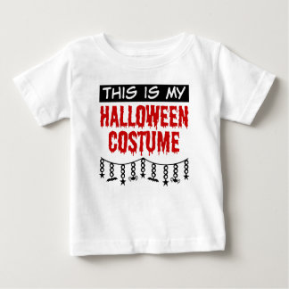 This is My Halloween Costume Spiders Bats Baby T-Shirt