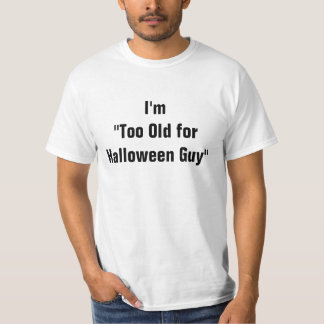 This is My Halloween Costume TShirt - Old Guy