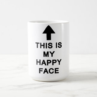 This is My Happy Face Mug