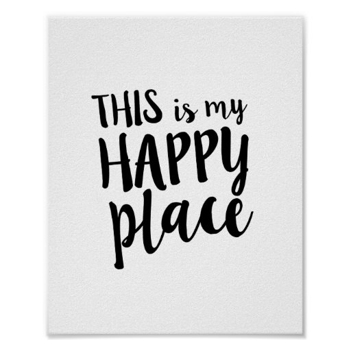 This is my Happy Place Family Home Quote