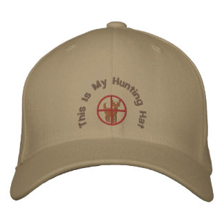 This Is My Hunting Hat Embroidered Cap