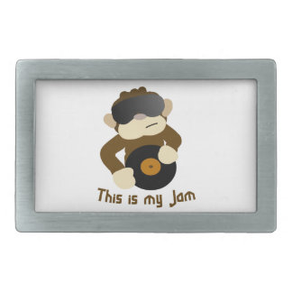This is my jam, Monkey Belt Buckle