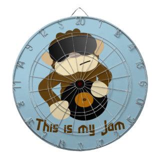 This is my jam, Monkey Dartboard