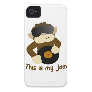 This is my jam, Monkey iPhone 4 Case-Mate Cases