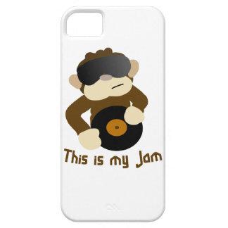This is my jam, Monkey iPhone 5 Cases
