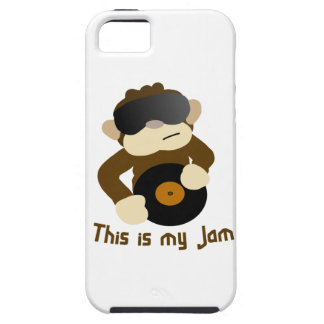 This is my jam, Monkey Tough iPhone 5 Case