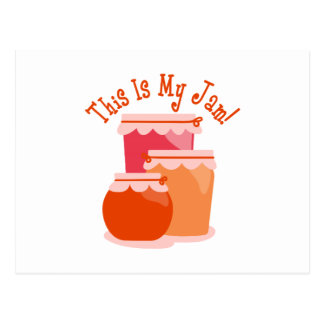 This Is My Jam! Postcard