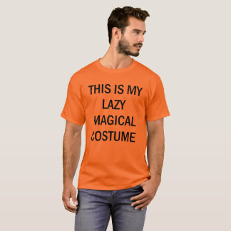 This is My Lazy Magical Halloween Costume Men T-Shirt