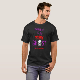 This is My Lazy Scary Ghost Costume Halloween Tee