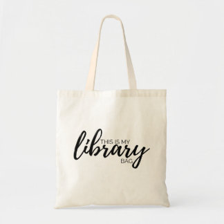 This Is My Library Bag Tote