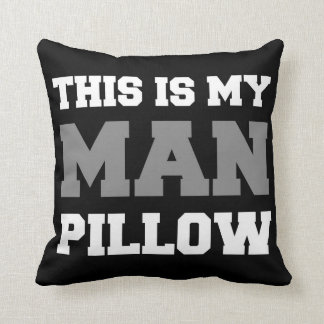 This Is My Man Pillow