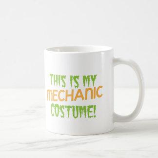 This is my MECHANIC costume Coffee Mugs