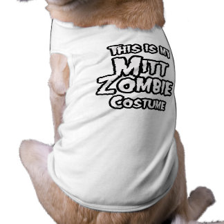 THIS IS MY MITT ZOMBIE COSTUME PET CLOTHES