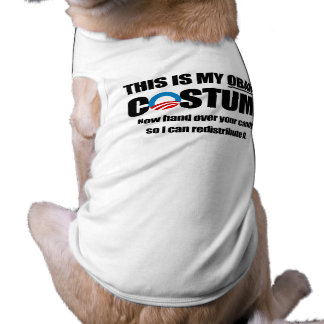 This is my Obama Costume Doggie Shirt