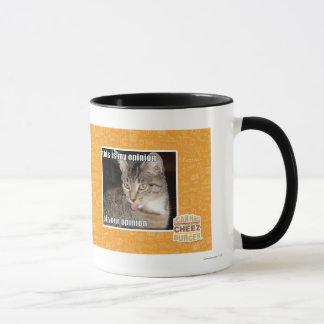 this is my opinion mug