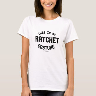 This is my Ratchet Costume T-Shirt
