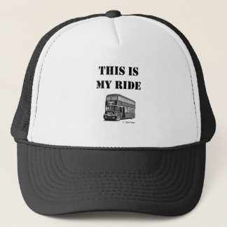 This Is My Ride Trucker Hat