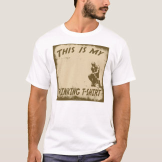 THIS IS MY THINKING T-SHIRT