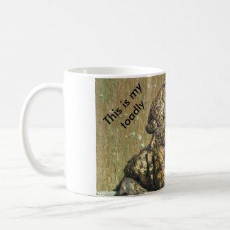 This is my toadly awesome mug! basic white mug