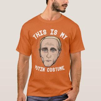 This is my Vladimir Putin Costume T-Shirt
