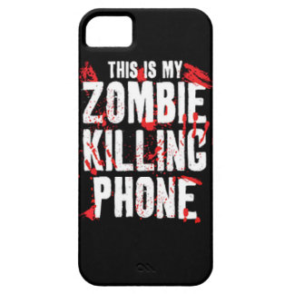 This is my Zombie killing Phone keep calm and kill iPhone 5 Cases