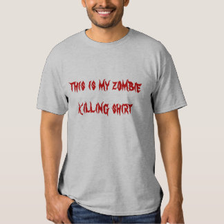 this is my zombie killing skirt shirt