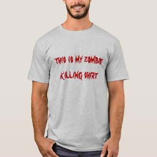 this is my zombie killing skirt T-Shirt