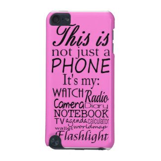 This is not just a phone iPod touch 5G cover