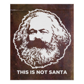 This Is Not Santa Poster